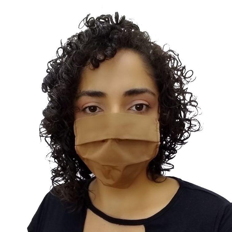 Máscara de Tecido Bege