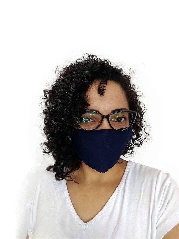 Máscara Tecido Azul