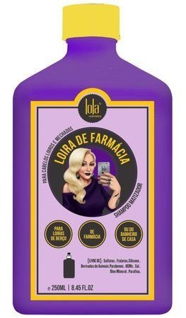 Lola Cosmetics - Loira de Farmácia Shampoo Matizador 250ml