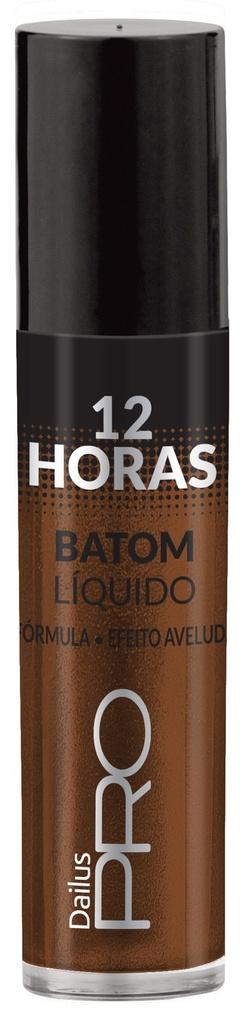 Dailus Pro Batom Líquido12H - 64 Marrom Brilhantina