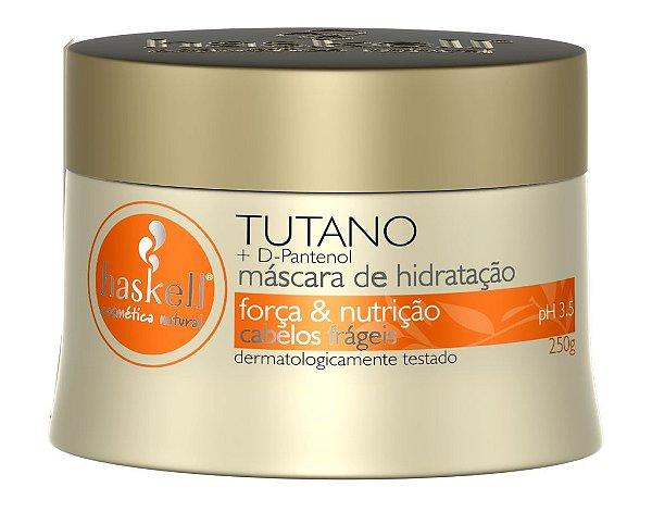 Máscara Haskell Tutano + D-Pantenol Força & Nutrição 250g