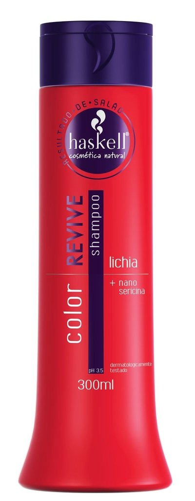 Shampoo Haskell Color Revive Lichia + Sericina 300ml
