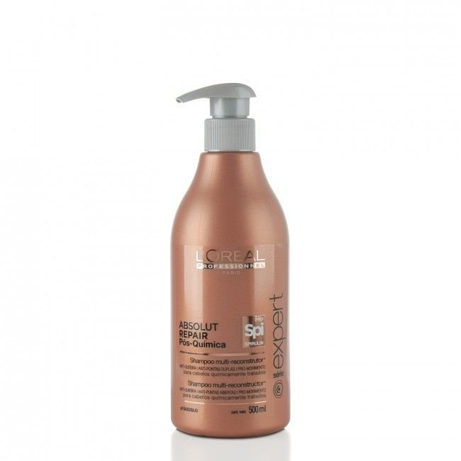 Loreal Absolut Repair Pós Química Shampoo 500 ml