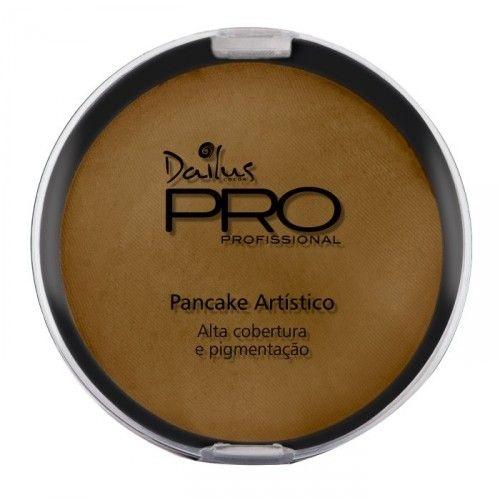 Pó Pancake Artístico Dailus PRO Cor 10 - Amarelo