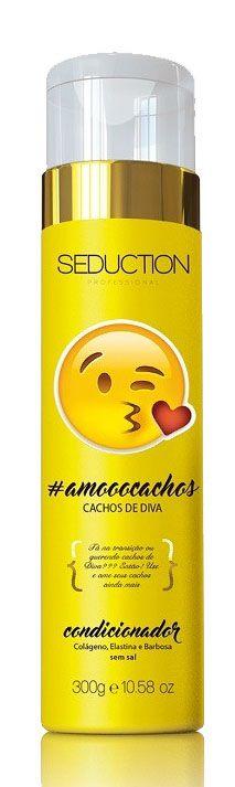 Seduction Professional Condicionador Emotions Amo Cachos de Diva - 300g