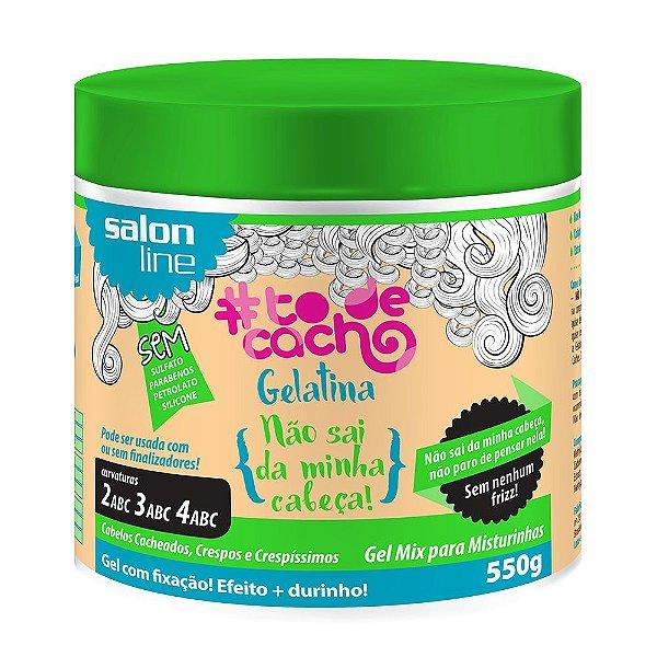 Salon Line Gelatina #Todecacho – Não Sai Da Minha Cabeça - 550g