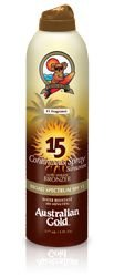 Australian Gold spf 15 Instant Bronzer Spray - 177ml
