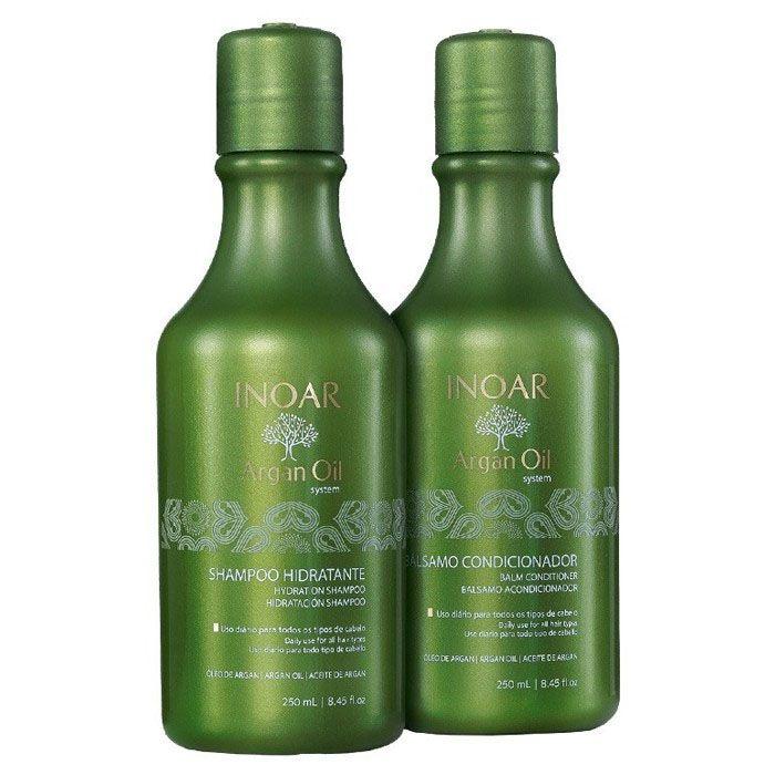 Inoar Argan Oil System Kit Shampoo + Condicionador 250ml