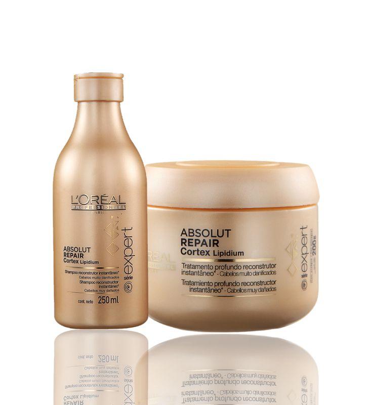 L'Oréal Professionnel  Kit Absolut Repair Shampoo 250ml e Máscara 200g