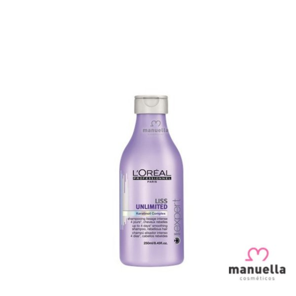 LOREAL SERIE EXPERT LISS UNLIMITED SHAMPOO 250ML