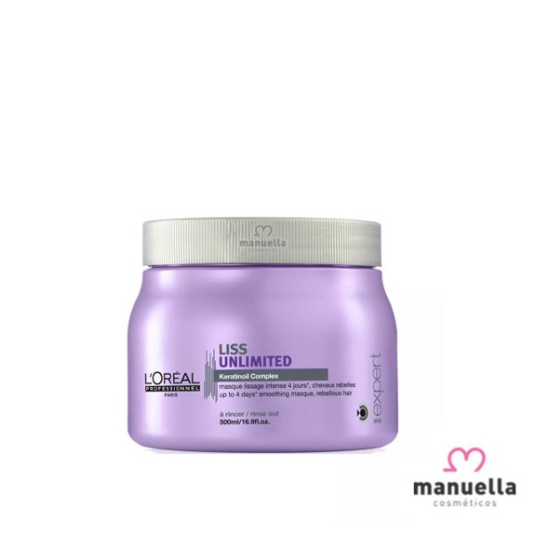 LOREAL SERIE EXPERT LISS UNLIMITED MÁSCARA 500G