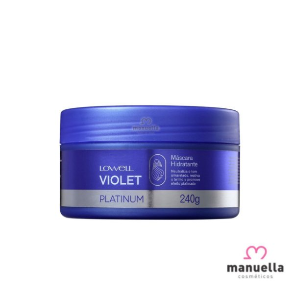 LOWELL SPECIAL CARE COLOR POWER VIOLET MASCARA 240G