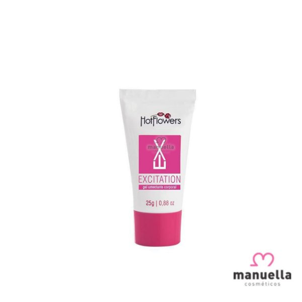 HOT FLOWERS EXCITANTE FEMININO EXCITATION GEL 25GR