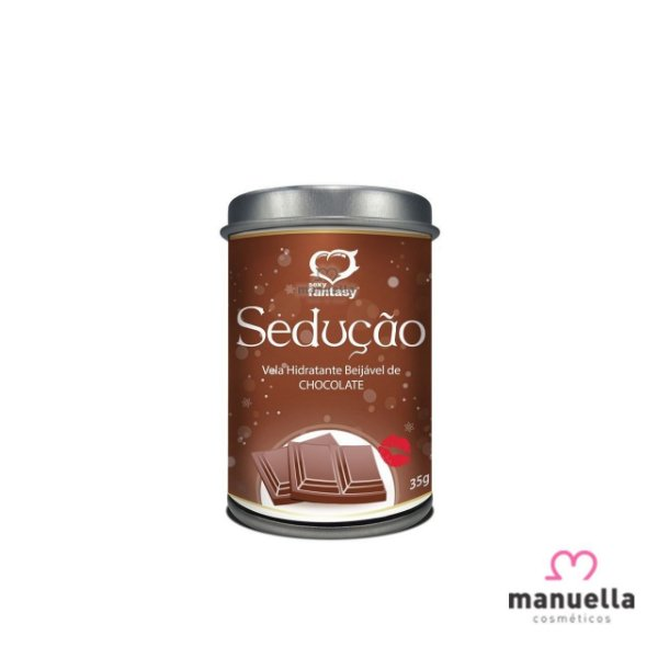 SEXY FANTASY VELA BEIJÁVEL 35G CHOCOLATE