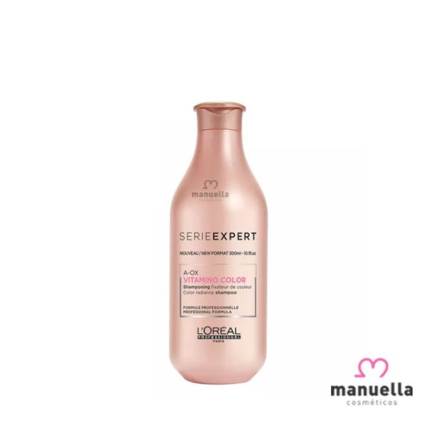 LOREAL SERIE EXPERT VITAMINO COLOR A. OX SHAMPOO 300ML