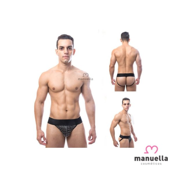 CUECA JOCKSTRAP COM TACHINHAS SD CLOTHING