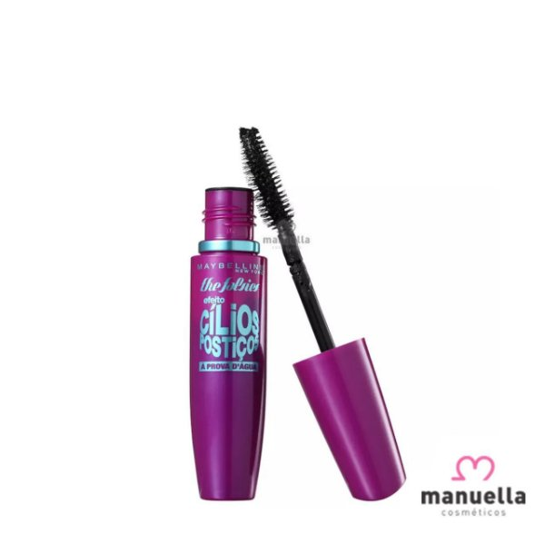 MAYBELLINE MASCARA DE CILIOS THE FALSES PROVA DAGUA