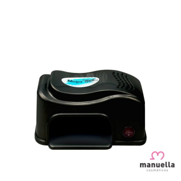 MEGA BELL NAILS MATIC COMPACT LED PRETO 155
