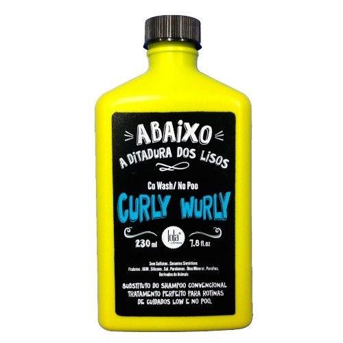 Lola Curly Wurly Co-Wash Cabelos Cacheados Shampoo 230 gramas