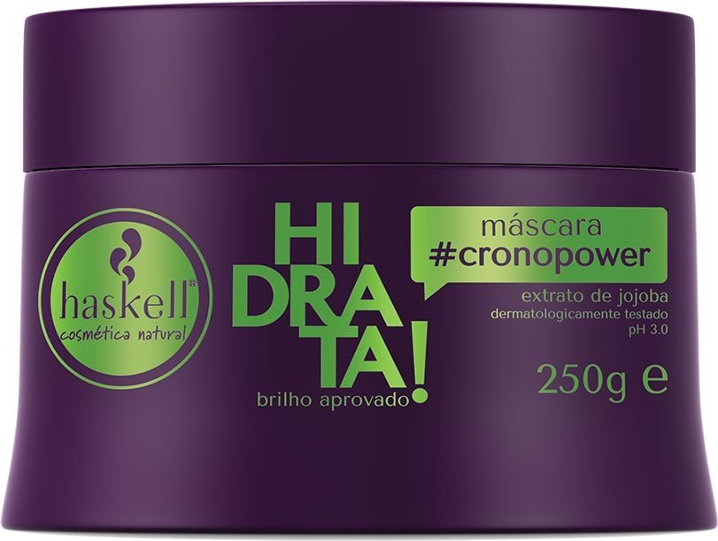 Haskell Máscara Cronopower Hidrata! - Máscara de Hidratação - 250g