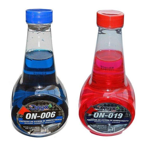 Aditivo De Radiador Onyx Rosa Ou Azul 1 Litro Lucar