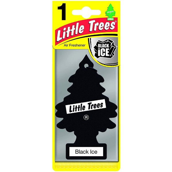 Aromatizante Little Trees Black Ice