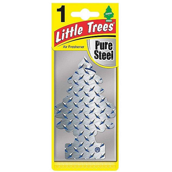 Aromatizante Little Trees Pure Steel