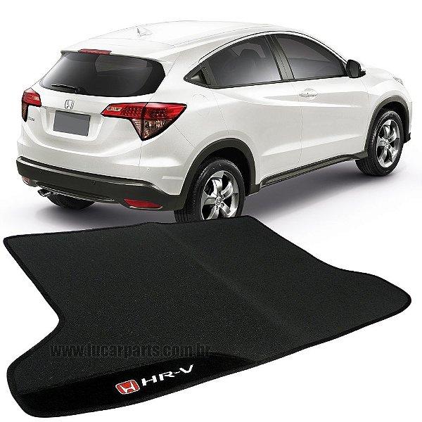 Tapete Porta-Malas HR-V de Borracha c/ Carpete Bordado Personalizado