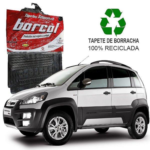 Tapete Borcol Idea 2005 em diante de Borracha Jogo c/ 4 Peças