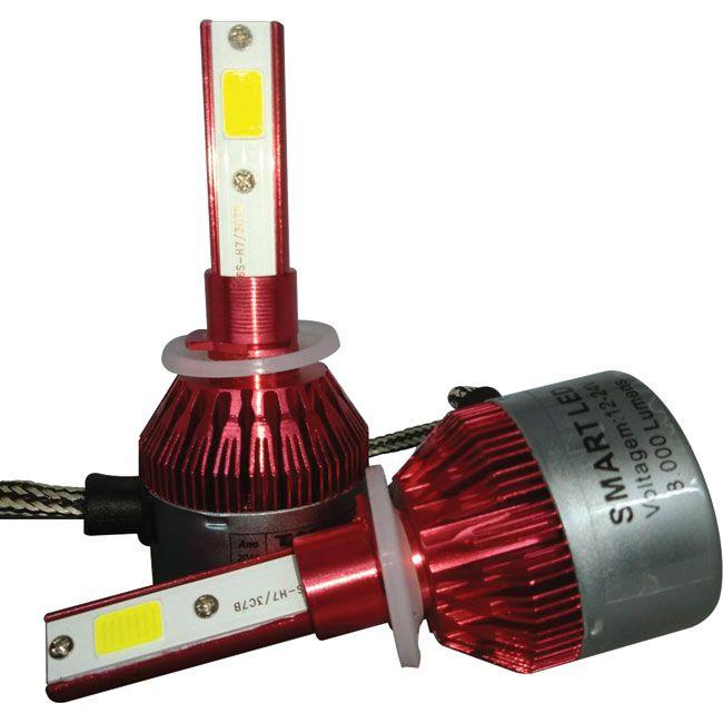Kit Lâmpada Super Led Smart Tay Tech H27 8000 Lumens