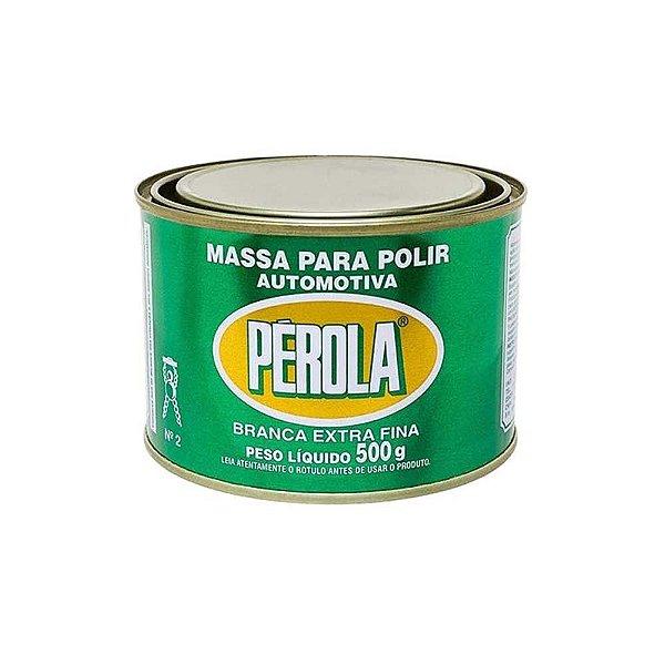 Massa Para Polir Pérola 500g