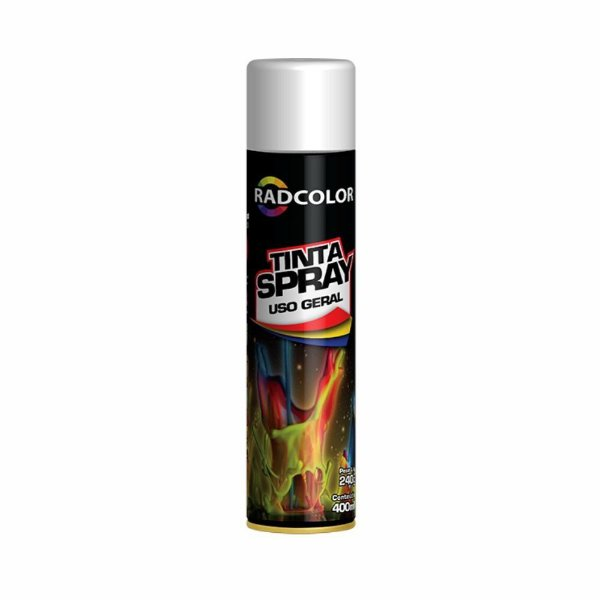 Tinta Spray Radcolor Branco Brilhante 400ml