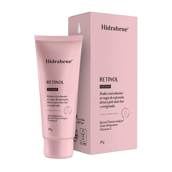 Retinol 30g - Hidrabene