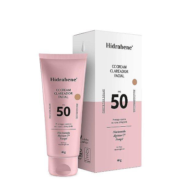 CC Cream Clareador Facial FPS 50 40g - Hidrabene