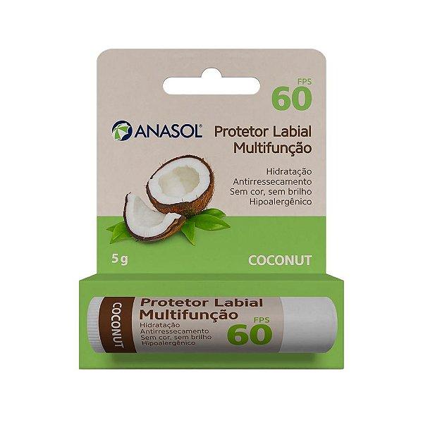 Protetor Labial Coconut 5 g - Anasol