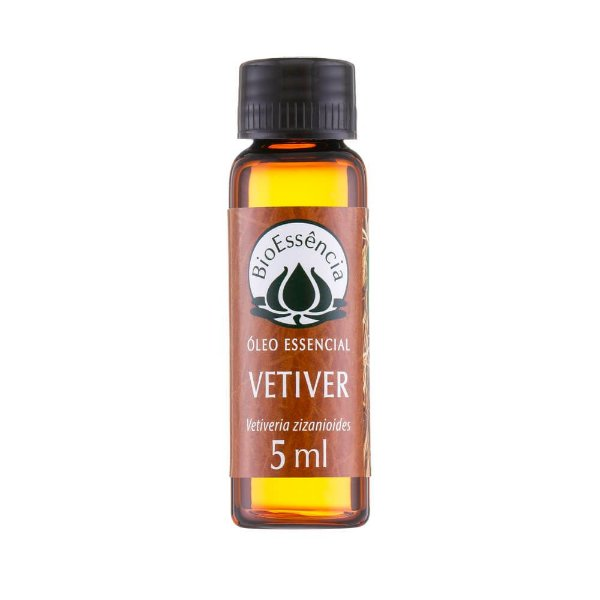 Óleo Essencial De Vetivert 5Ml - BioÊssencia