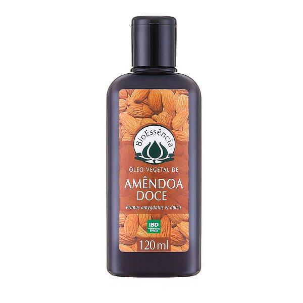 Óleo Vegetal De Amendoa Doce 120Ml - BioÊssencia