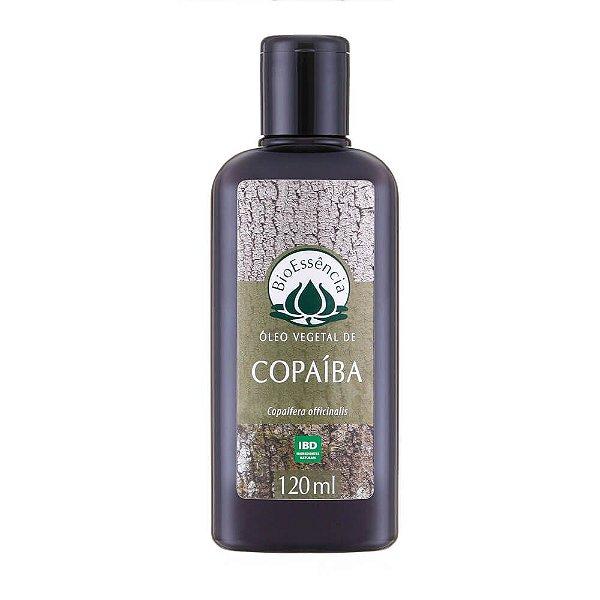Óleo Vegetal De Copaiba 120Ml - BioÊssencia