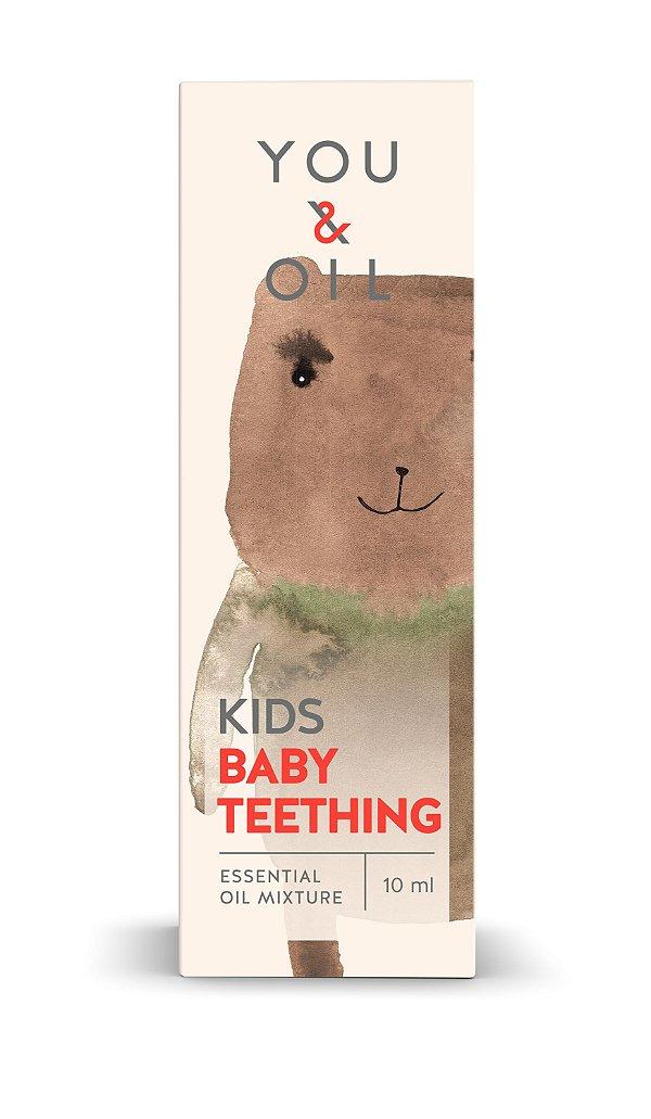 Blend Óleo Essencial Orgânico Infantil Primeiros Dentes 10ml - You & Oil