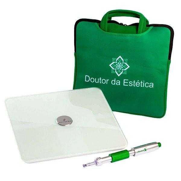 Kit Caneta Mesodoctor X Ganhe Balança De Bioimpedância + Bolsa Para Transporte - Doutor Da Estética