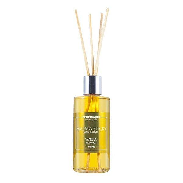 Difusor por varetas Aroma Sticks Vanilla 250ml - Aromagia