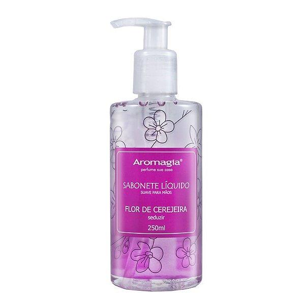 Sabonete Líquido para as Mãos - Flor de Cerejeira 250ml - Aromagia