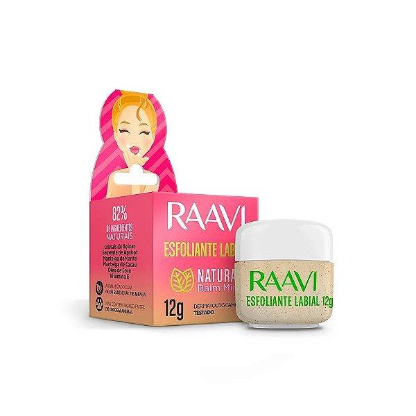 Esfoliante Labial Natural Balm Mint - Raavi