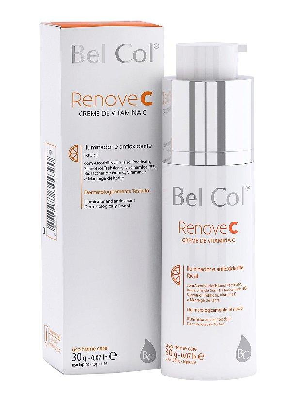 Renove C Creme de Vitamina C 30 ML - Bel Col
