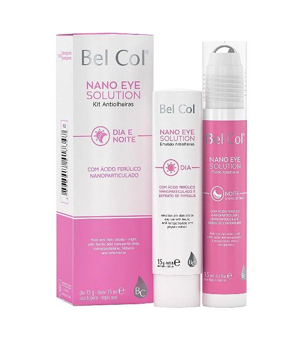 Nano Eye Solution Kit Antiolheiras (Dia e Noite) 15g cada - Bel Col