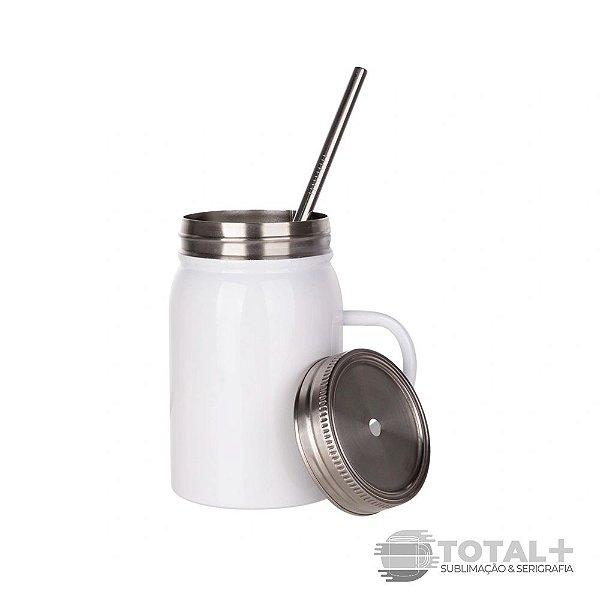 Mason Jar Térmico de Aço inox - 500ml
