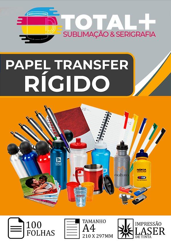 Papel Transfer Laser Rígido - 100 Folhas