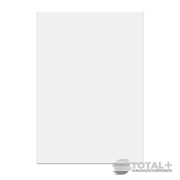 Placa de Metal Brilhante Para Sublimação 21x30 cm