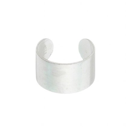 Piercing De Orelha Grosso Em Prata
