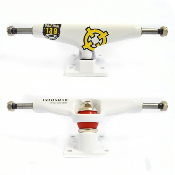 TRUCK INTRUDER PRO SERIES WHITE 139mm